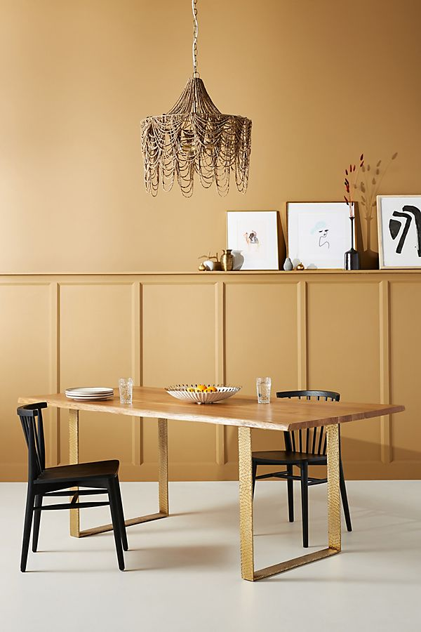 Smoked Oak Dining Table Anthropologie