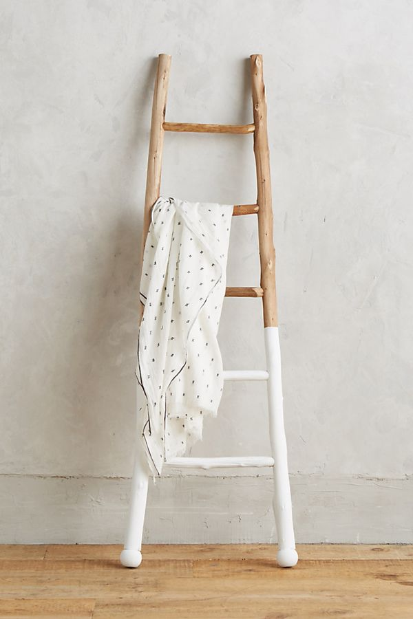 Slide View: 1: White-Dipped Ladder