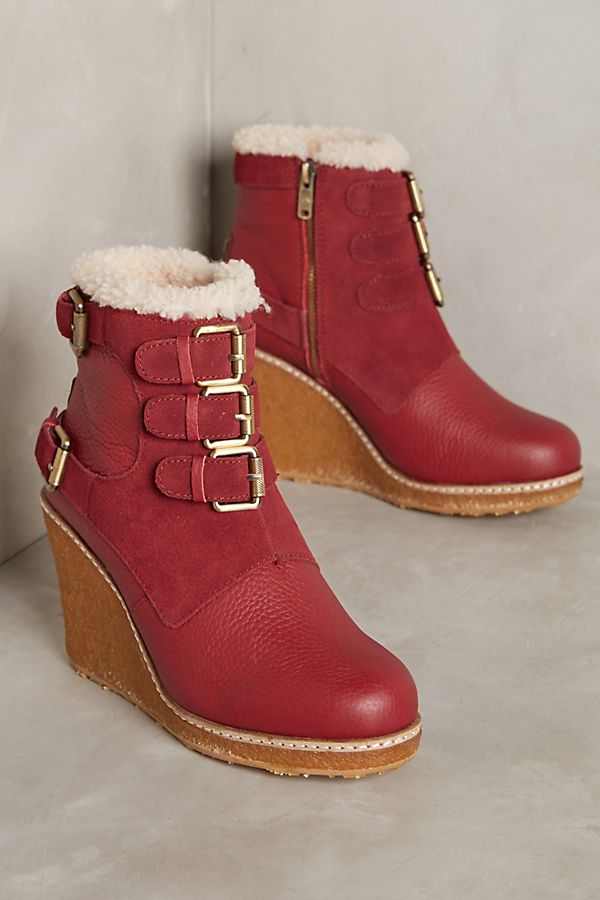 a0a9d416767b Australia Luxe Collective Monk Wedge Boots