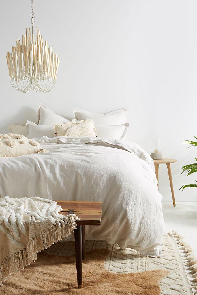 Relaxed Cotton Linen Duvet Cover