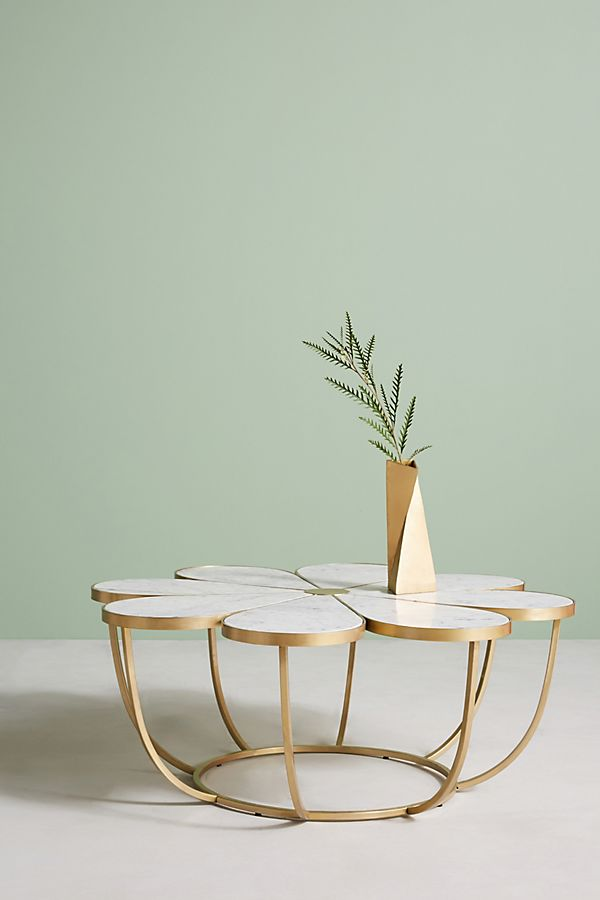 Flower Coffee Table.Boutonniere Coffee Table