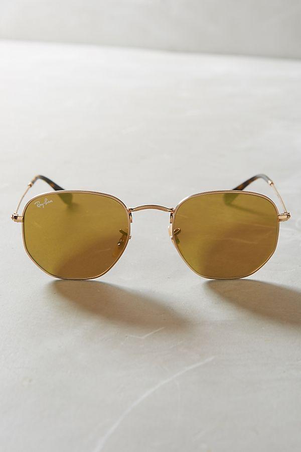34c00850619c Ray-Ban Hexagonal Flat Sunglasses