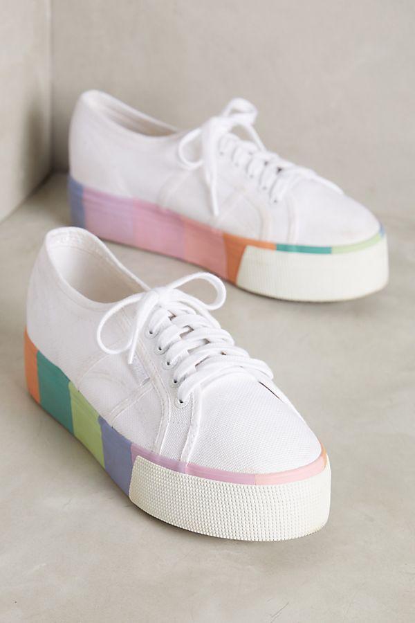 cd8275df072b Superga Pastel Platform Sneakers