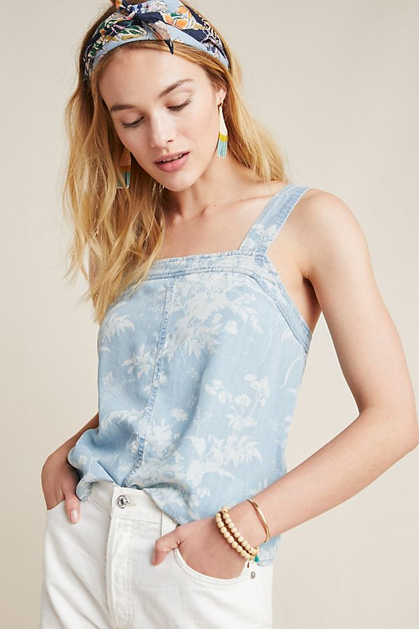Slide View: 1: Paige Rayna Toile Tank