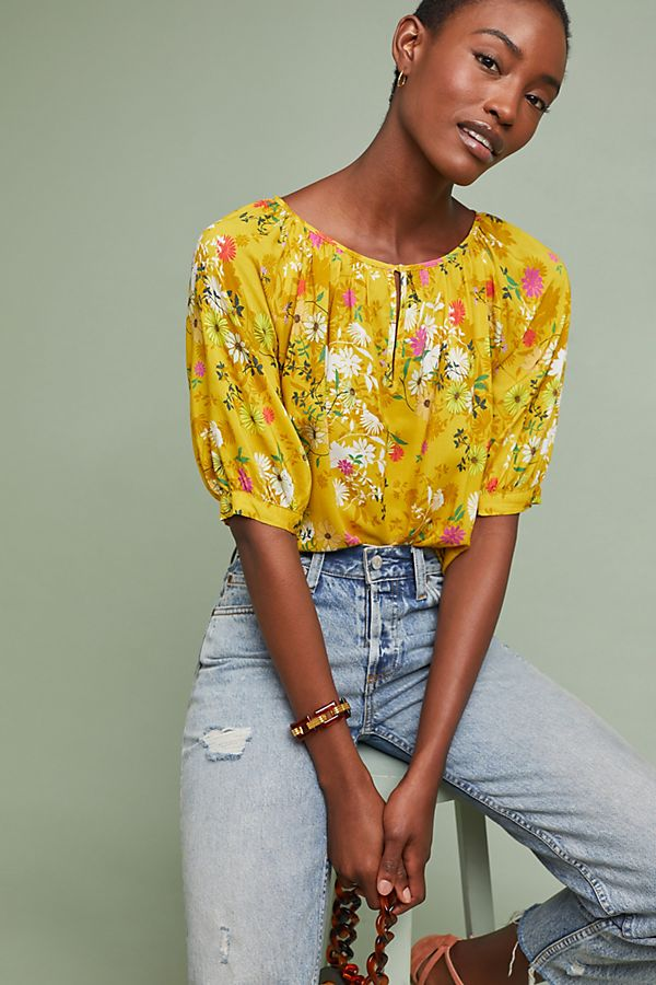 a519bb67676 Edith Floral Top | Anthropologie