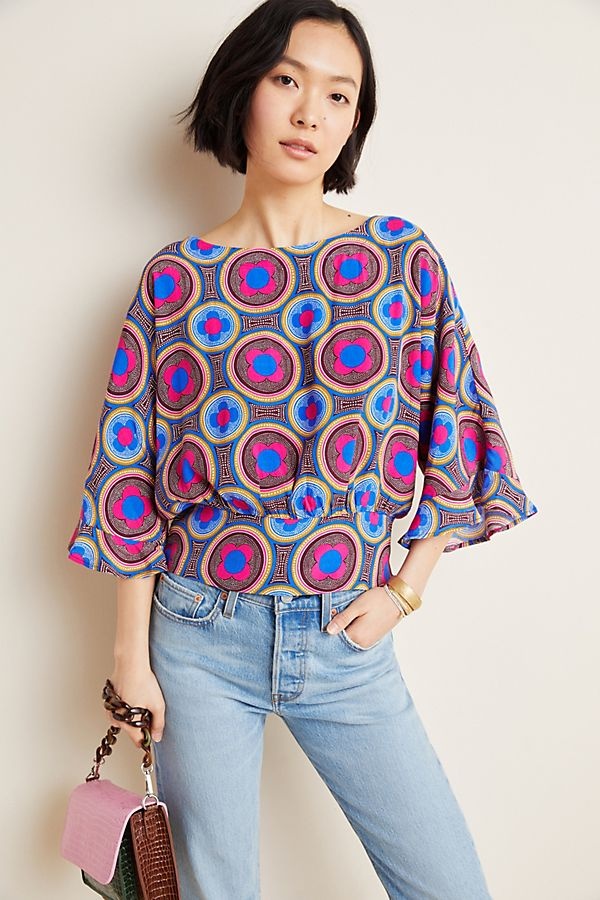 Slide View: 1: Miro Dolman Blouse