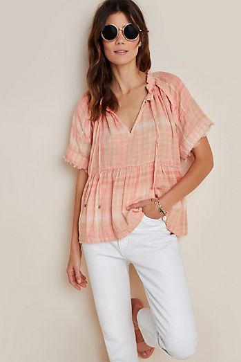 The Bette Babydoll Blouse