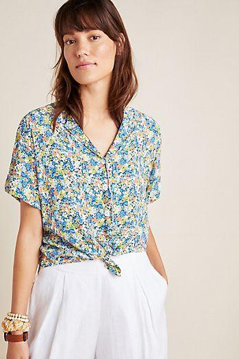 6443ca628f98c6 Women's Button Down Shirts & Dress Shirts | Anthropologie