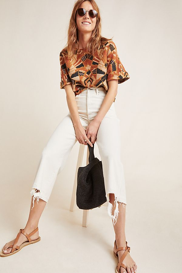 Slide View: 1: Seraphina Textured Blouse