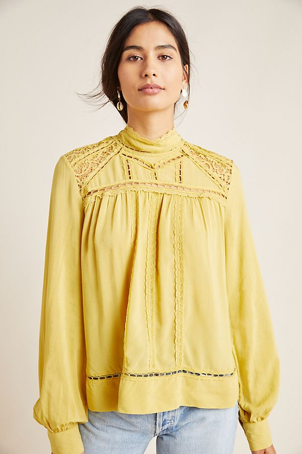 Slide View: 1: Melody Peasant Blouse