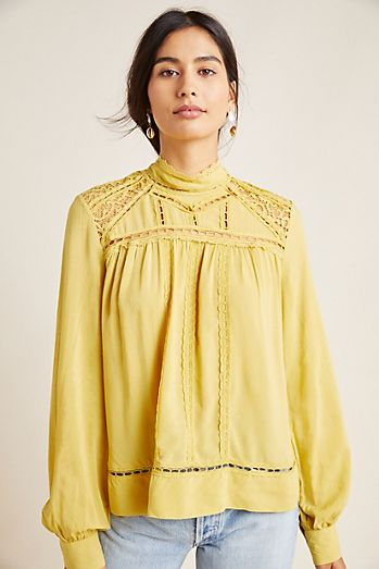 0afb0967401fd5 Blouses for Women | Anthropologie