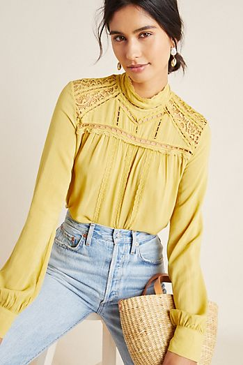 3711f7ad3eb Blouses for Women | Anthropologie