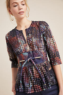 Slide View: 1: Byron Lars Monet Blouse