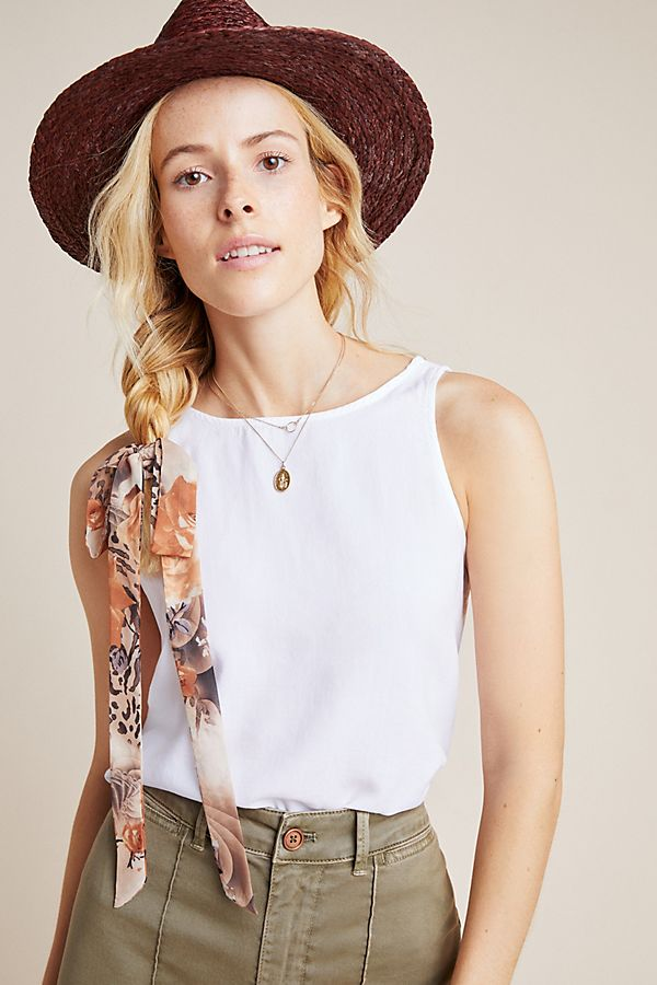 Slide View: 1: Cloth & Stone Helena Chambray Tank