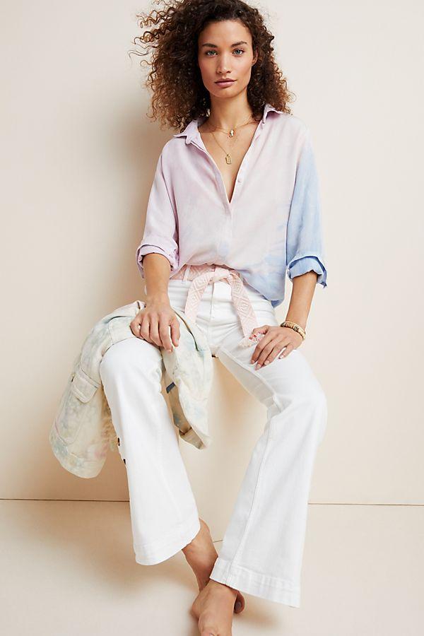 Slide View: 1: Cloth & Stone Tie-Dyed Buttondown