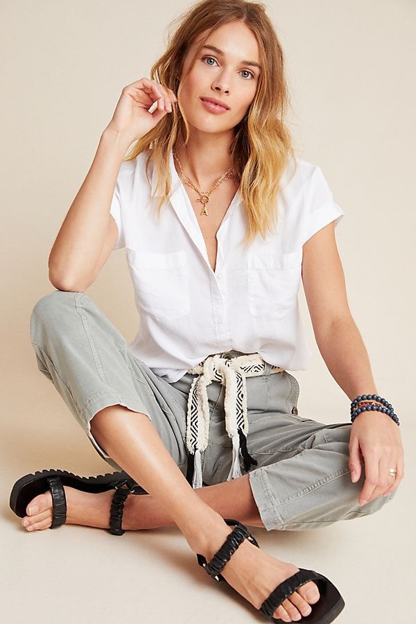 Slide View: 1: Cloth & Stone Relaxed Buttondown