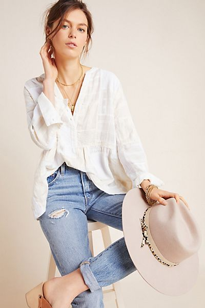 The Zoe Swing Blouse