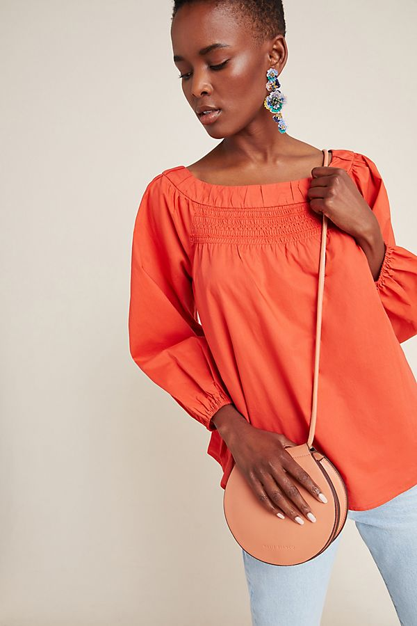 Slide View: 1: Jessie Smocked Swing Blouse