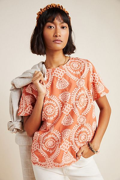 Coralie Embroidered Blouse
