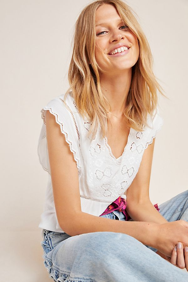 Slide View: 1: Shandy Lace Blouse