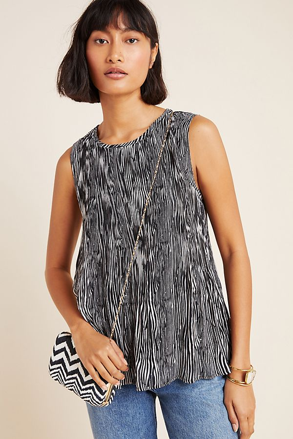 Slide View: 1: Paige Pleated Blouse