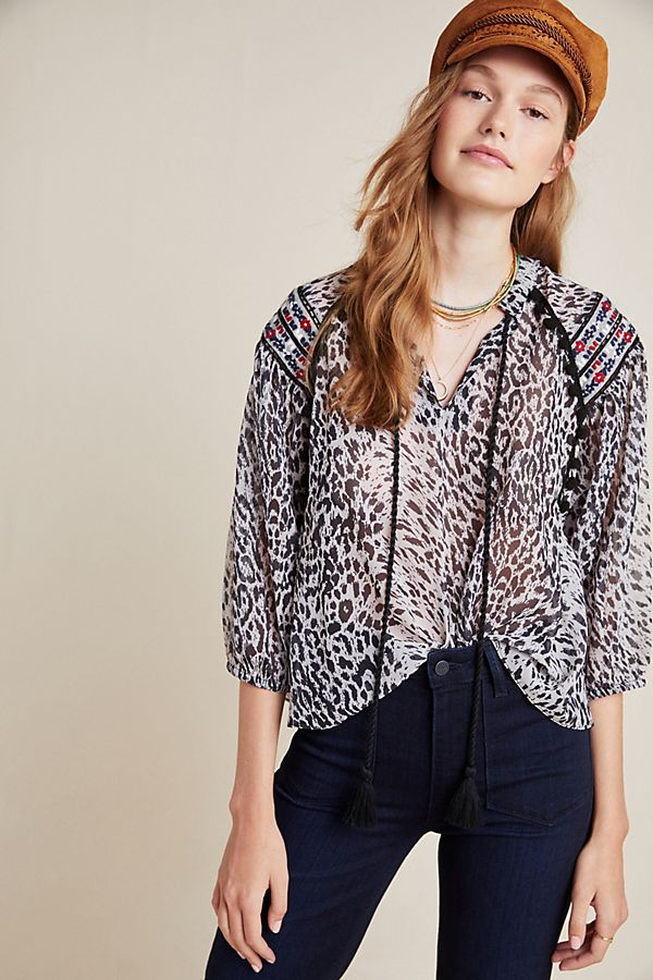 Slide View: 1: Jalisco Blouse
