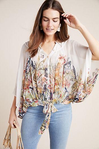 76e7368a961d1e Portia Floral Blouse