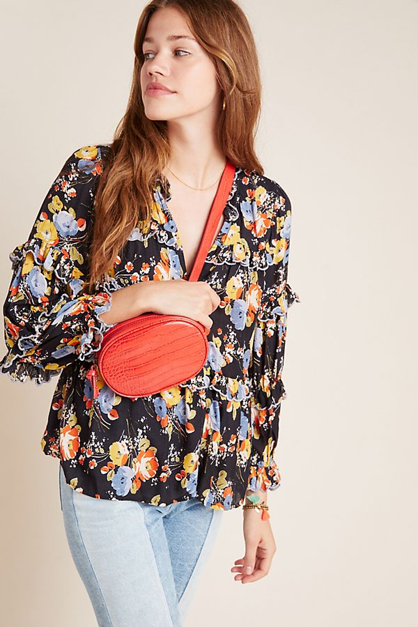 Slide View: 1: Myra Tiered Blouse