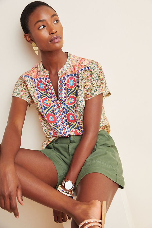 Slide View: 1: Susmita Embroidered Blouse