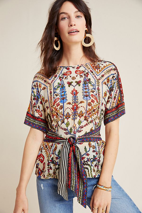Slide View: 1: Meknes Blouse