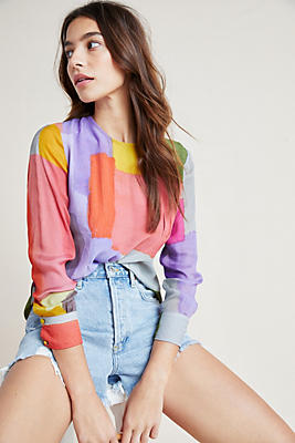 Slide View: 1: Pastel Blouse