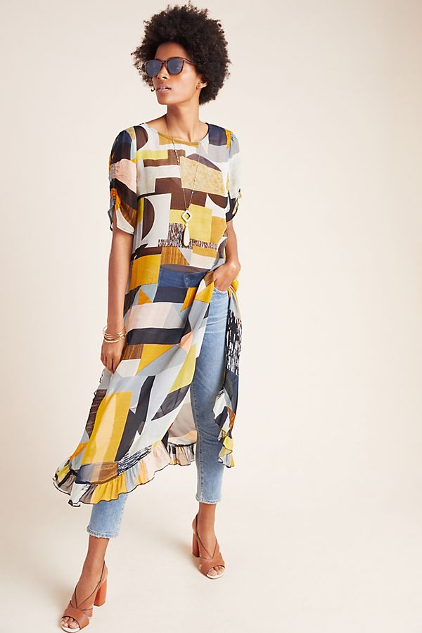 Slide View: 1: Fortaleza Abstract Tunic