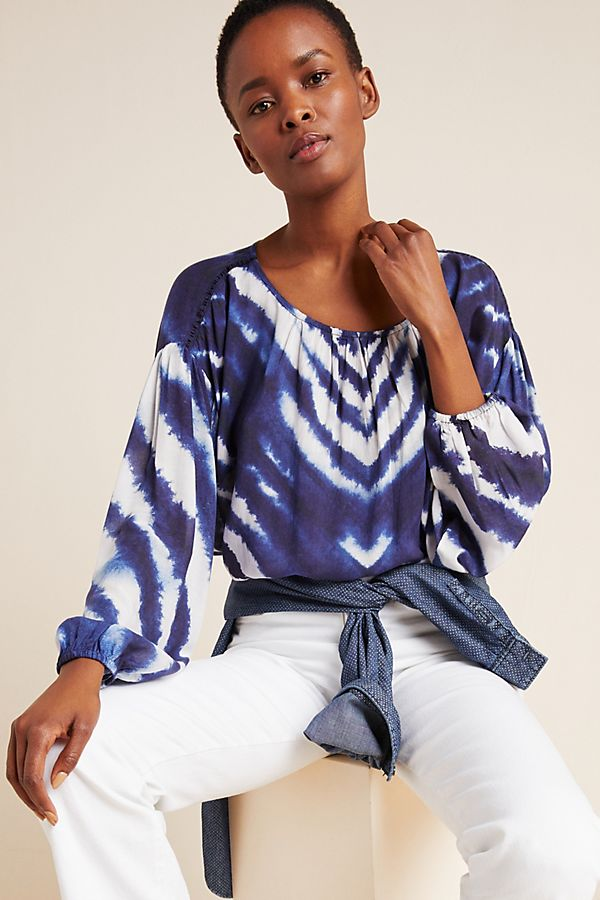 Slide View: 1: Marianne Tie-Dyed Top