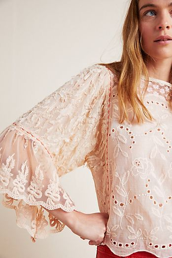 2280dc8d63c Lace   Embroidered Tops