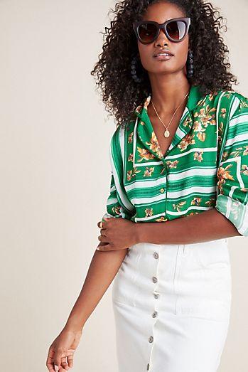 10575709 Women's Button Down Shirts & Dress Shirts | Anthropologie