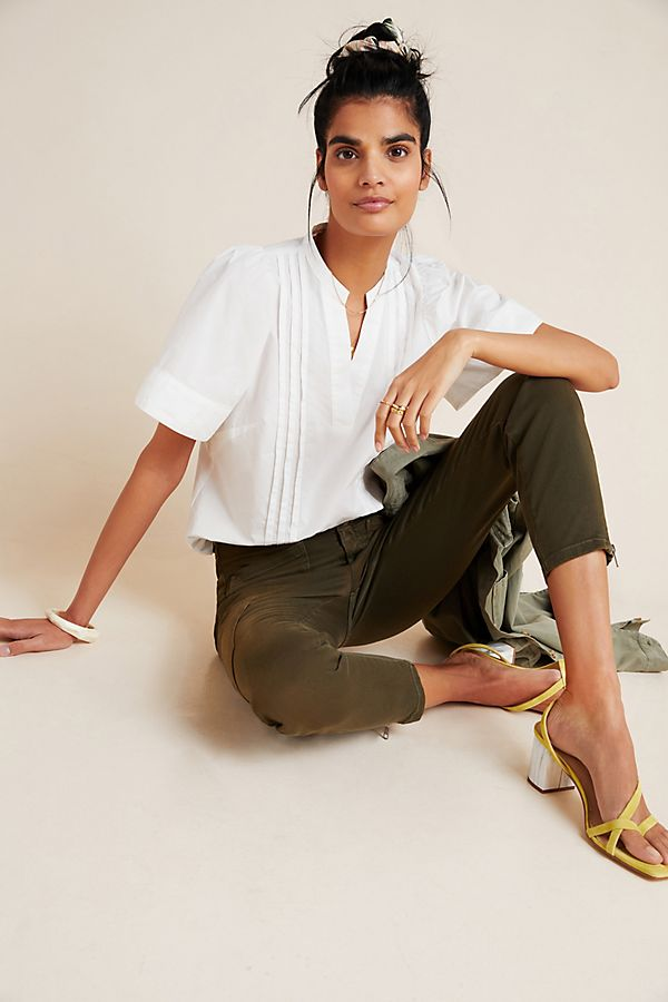 Slide View: 1: Keely Pintucked Blouse