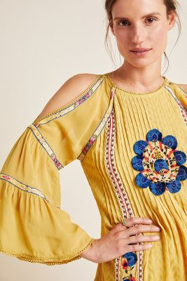 Bexley Open Shoulder Tunic by Bhanuni By Jyoti
