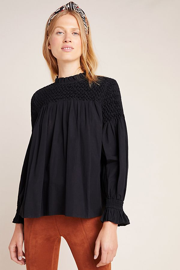 Slide View: 1: Modern Peasant Blouse