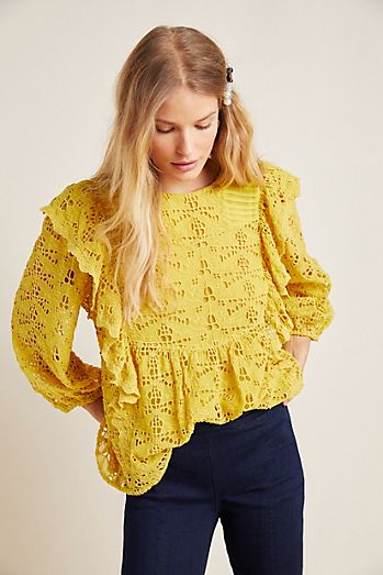 8ef0cf8d6e0a Blouses for Women | Anthropologie