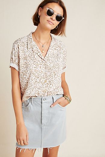 d9dc8d6a Women's Button Down Shirts & Dress Shirts | Anthropologie