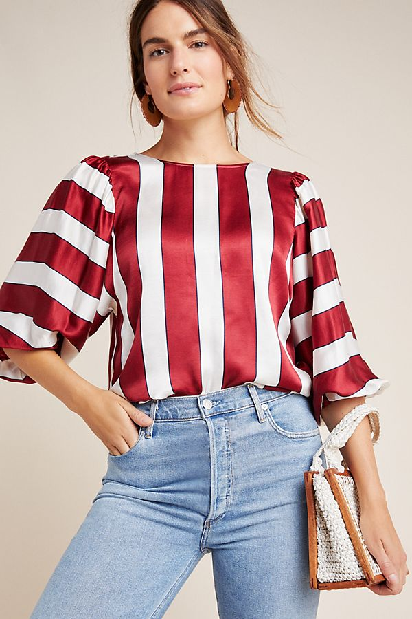 Jackie Striped Top by Maeve