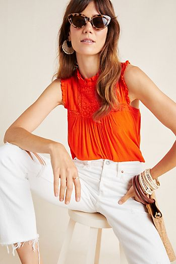 0f9f420cf5e26a Tank Tops for Women & Camis | Anthropologie