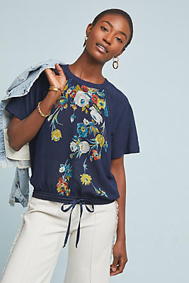 Slide View: 1: Carley Floral Top