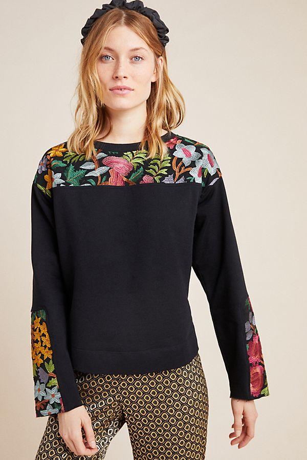 Slide View: 1: Phoenix Embroidered Sweatshirt