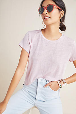 Slide View: 1: Casey Cropped Tee