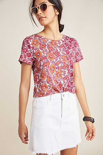 c5b266fd5787 Blue - T-Shirts For Women | Women's Tees | Anthropologie