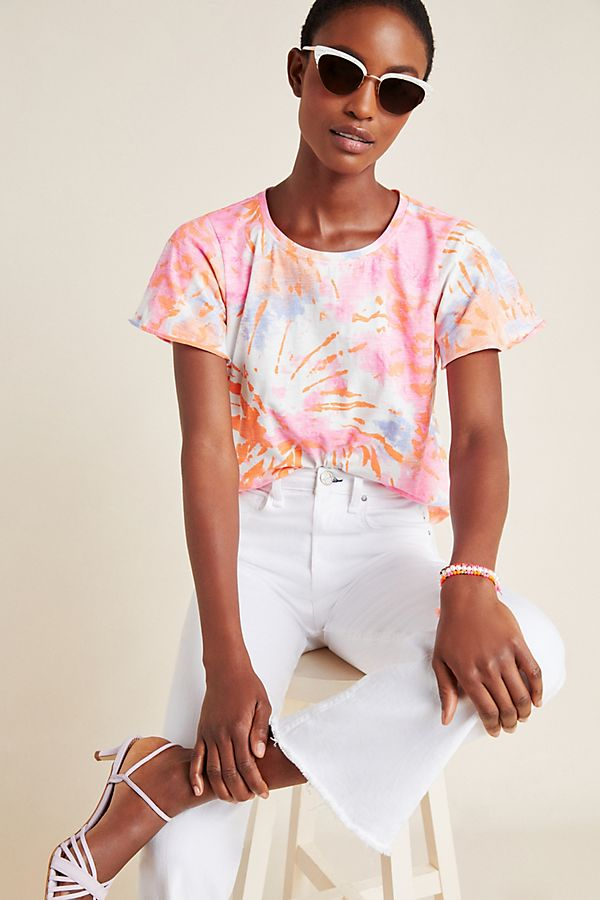 Slide View: 1: Fireworks Tie-Dyed Tee