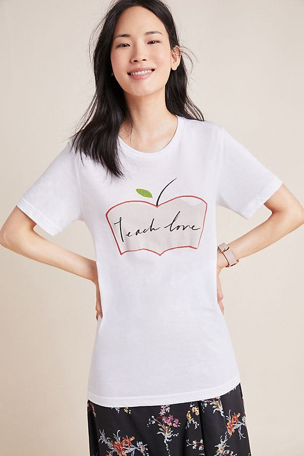 Slide View: 1: Teach Love Graphic Tee