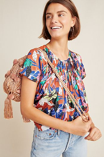 7afdc59dcc8 Blouses for Women | Anthropologie
