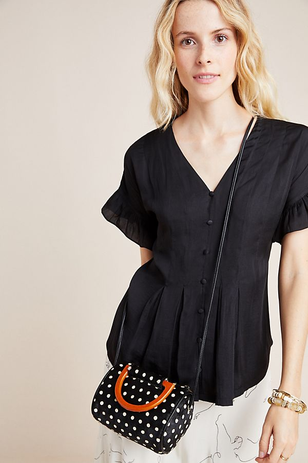 Slide View: 1: Mitzi Pleated Blouse
